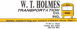 W.T.Holmes Transportation Co. Inc.